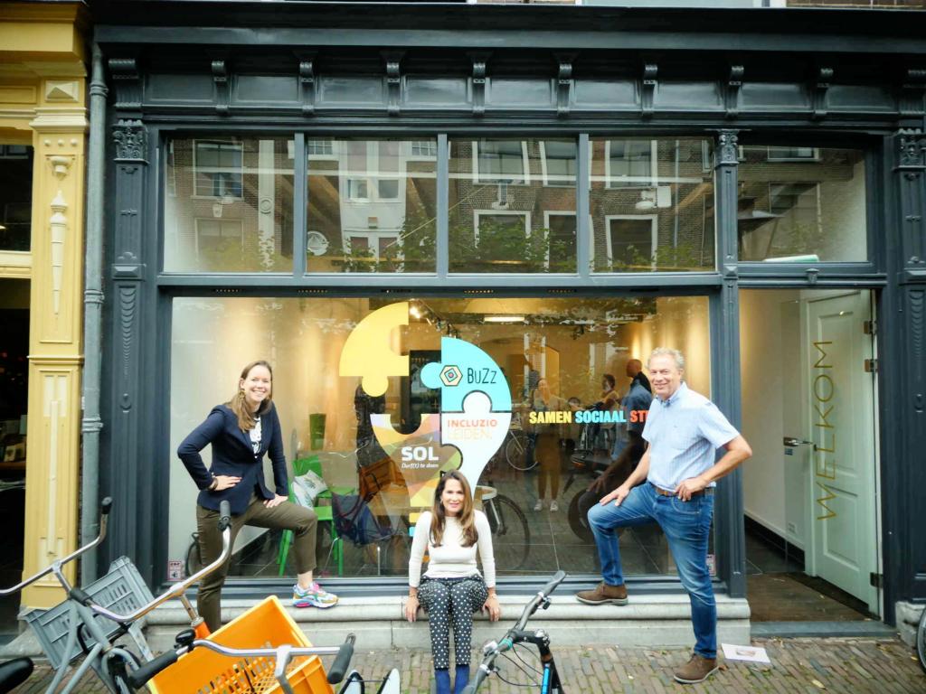 Nieuwstraat 7: Samen Sociaal Sterk