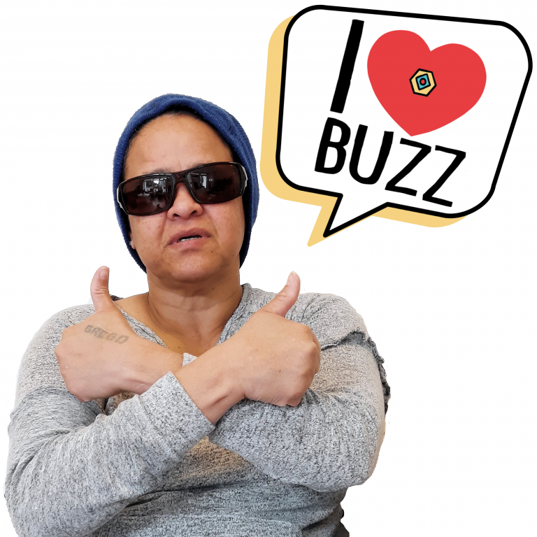 Nathaly loves BuZz