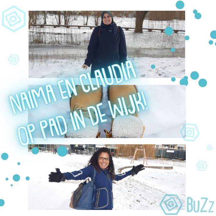 BuZz in de sneeuw