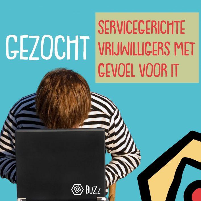 Gezocht servicegerichte vrijwilligers met gevoel voor IT