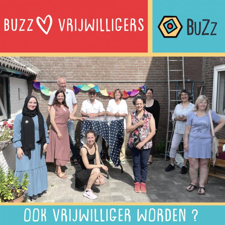 vrijwilligers BuZz