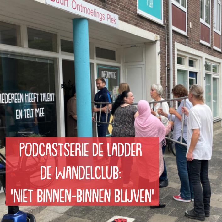 Podcastserie De Ladder #3, de Wandelclub